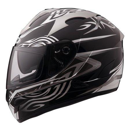 Capacete Zeus 806A II16 TSUNAMI BLACK  - Nova Centro Boutique Roupas para Motociclistas