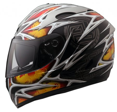 Capacete Zeus 806A II4 FIRE BLACK  - Nova Centro Boutique Roupas para Motociclistas