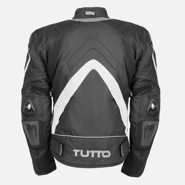 Jaqueta Tutto New Secca Cinza 100% Impermeável - Unissex - Só XS/PP Masc. = P/M Feminina  - Nova Centro Boutique Roupas para Motociclistas