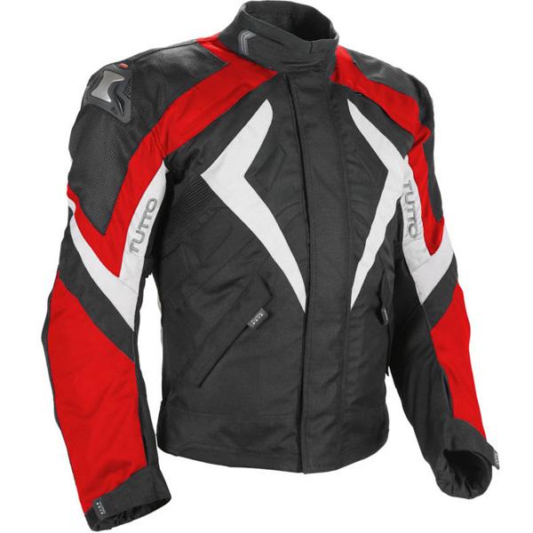 Jaqueta Tutto New Secca Vermelha 100% Impermeável  - Nova Centro Boutique Roupas para Motociclistas