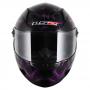 Capacete LS2 FF358 Breeze PRETO/ROXO Feminino
