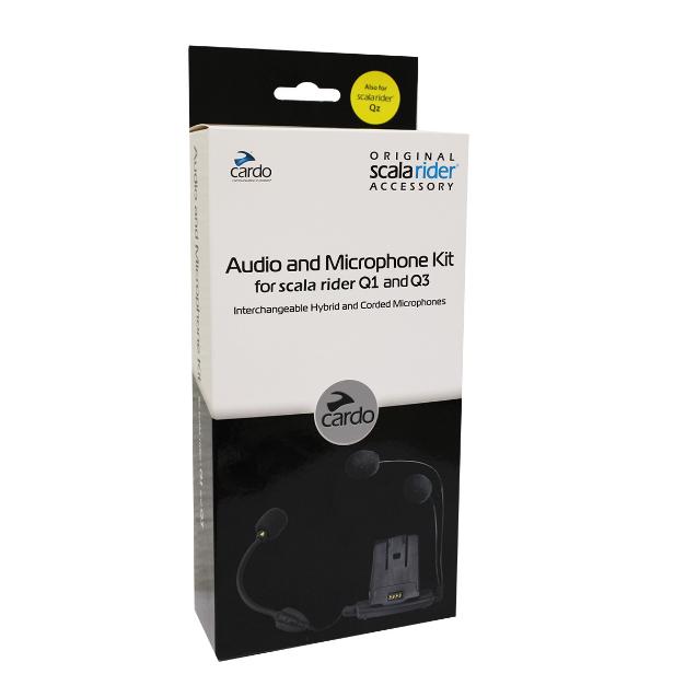 Base Audio e Microphone Kit Cardo p/ Q1 e Q3  - Nova Centro Boutique Roupas para Motociclistas