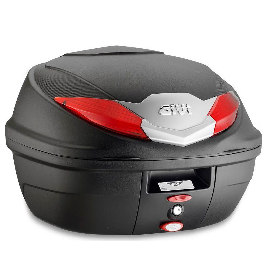 Baú Traseiro Givi B360 - 36 Litros - Monolock®  - Nova Centro Boutique Roupas para Motociclistas