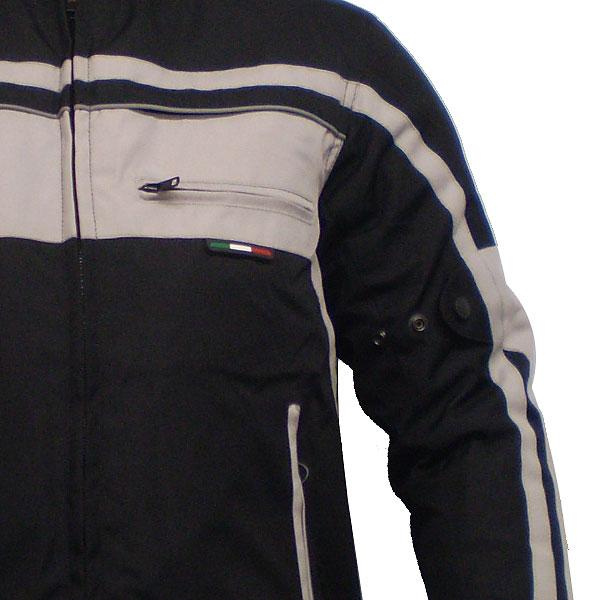 Jaqueta Tutto Fyber Silver 100% Impermeável (Fiber) (XS/PP)  - Nova Centro Boutique Roupas para Motociclistas