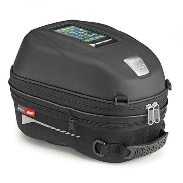 Bolsa de tanque Givi ST603 DE 15 LITROS COM SISTEMA TANKLOCK (ENGATE RAPIDO)  - Nova Centro Boutique Roupas para Motociclistas