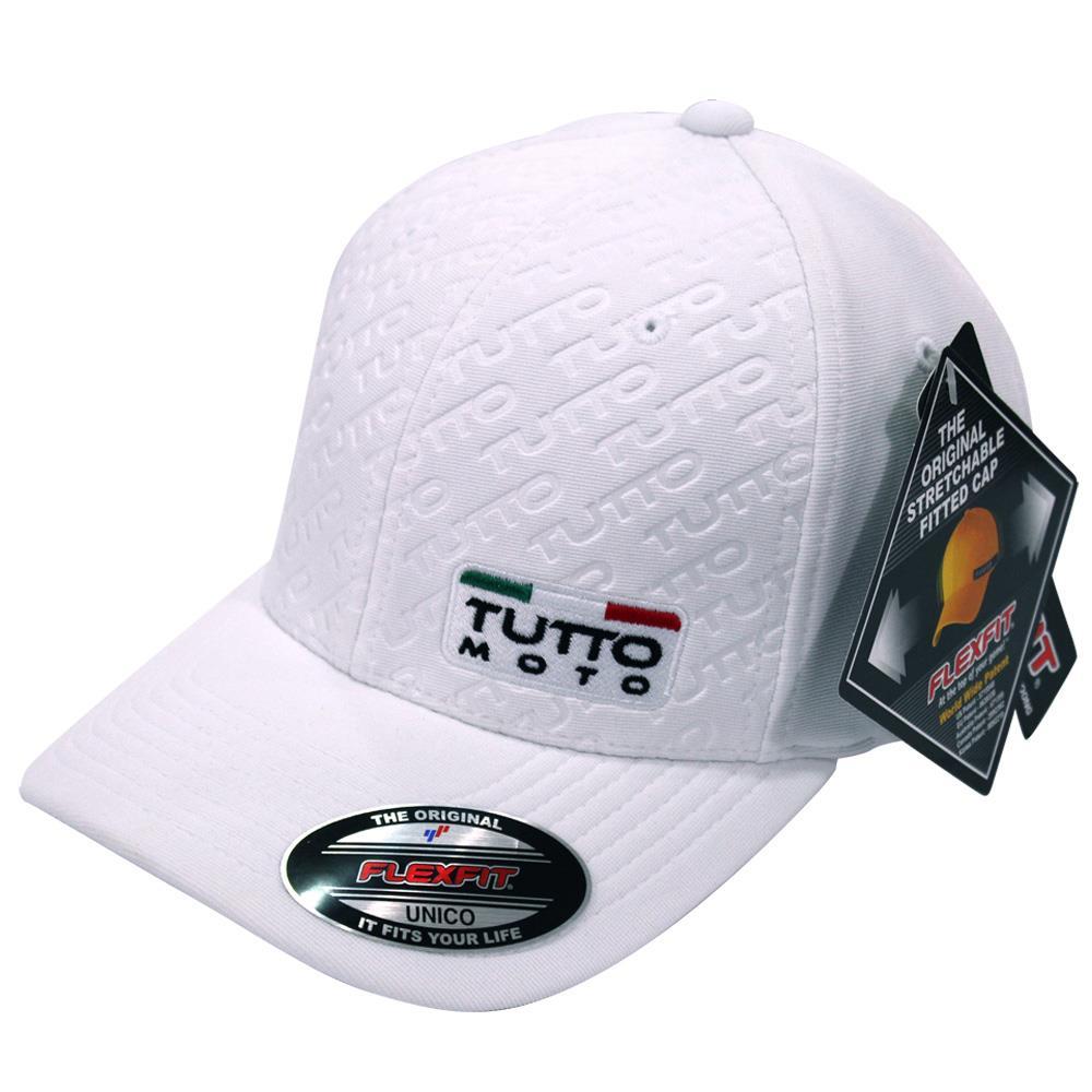 Boné Tutto Logo Branco  - Nova Centro Boutique Roupas para Motociclistas