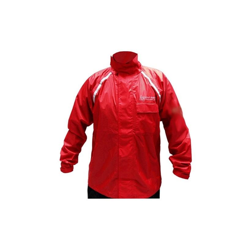 Capa de chuva GIVI Vermelha/Preta