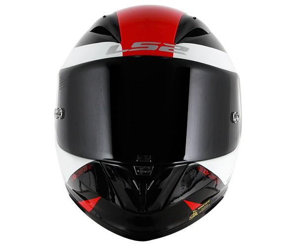 Capacete LS2 FF323 Arrow R Comet Vermelho/Branco  - Nova Centro Boutique Roupas para Motociclistas