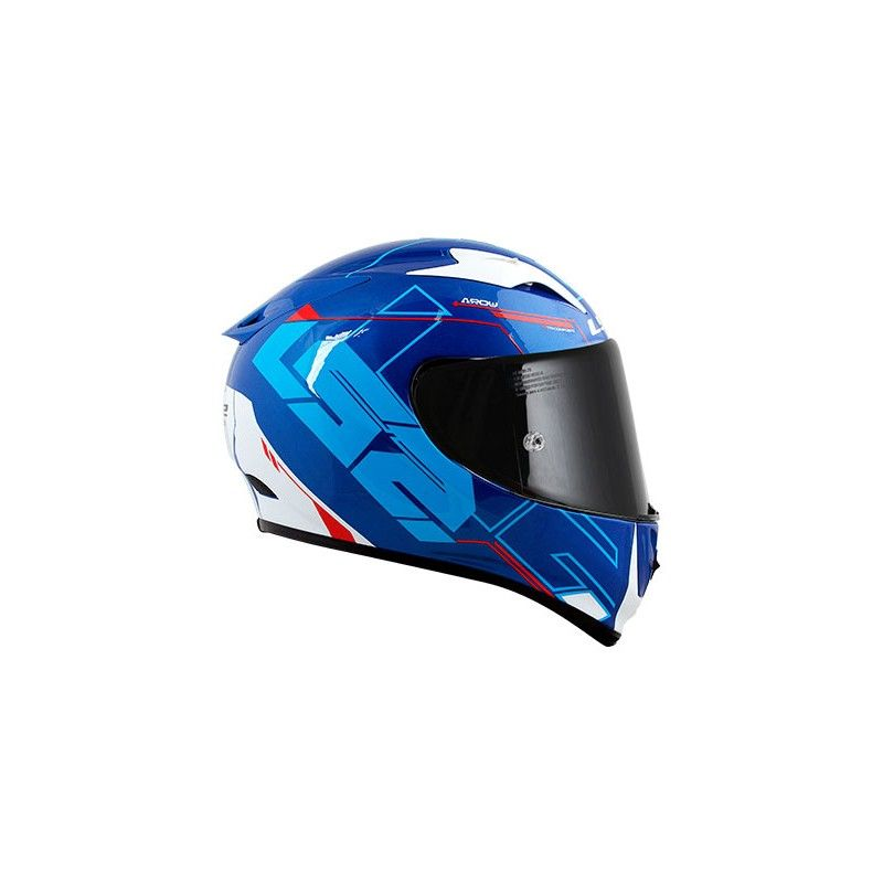Capacete LS2 FF323 Arrow R Techno White/Blue/red  - Nova Centro Boutique Roupas para Motociclistas