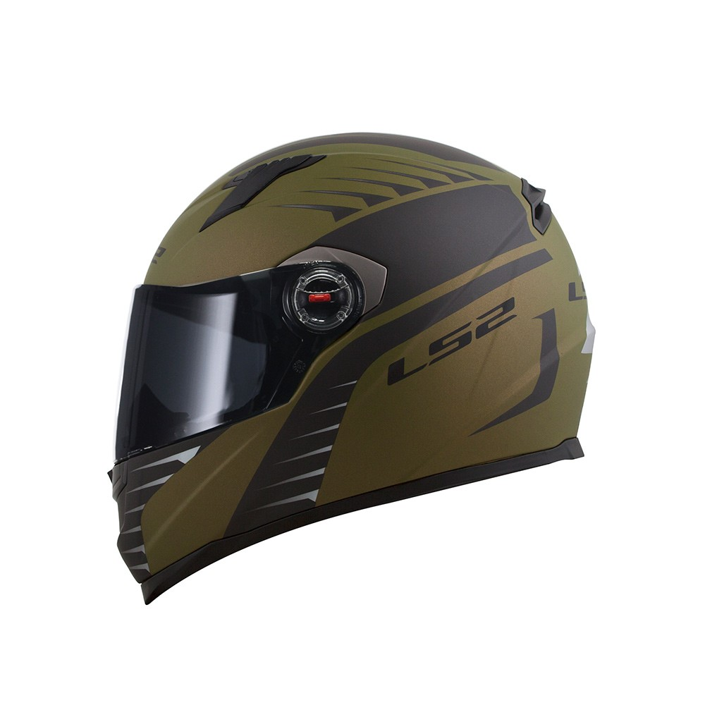 Capacete LS2 FF358 Air Fighter Verde Militar