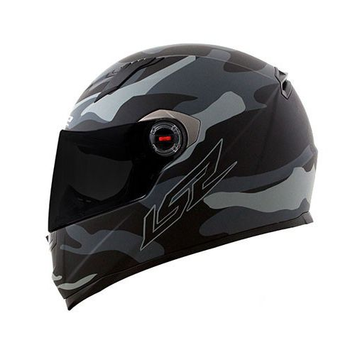 Capacete LS2 FF358 Army (Cinza)