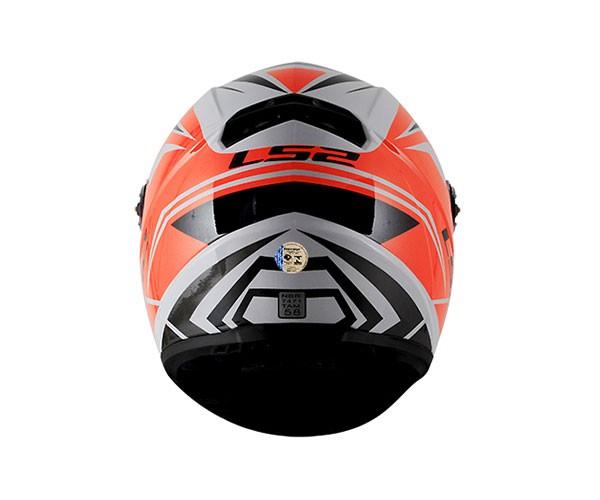 Capacete LS2 FF358 Blade Branco / Vermelho  - Nova Centro Boutique Roupas para Motociclistas