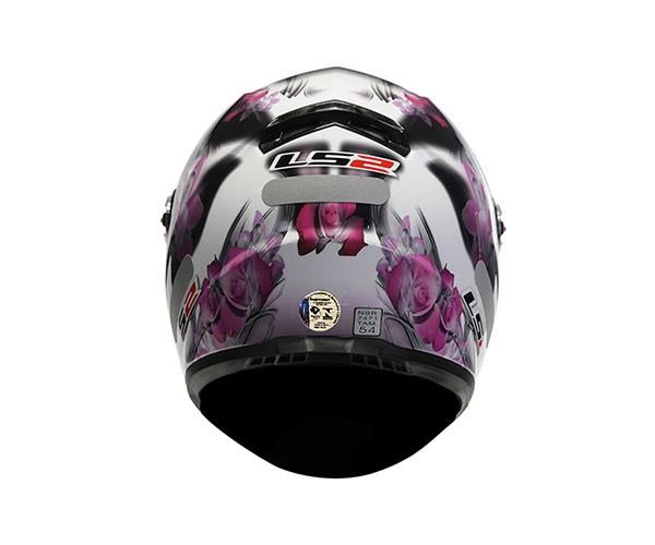 Capacete LS2 FF358 Flowers Pink - Só 60  - Nova Centro Boutique Roupas para Motociclistas