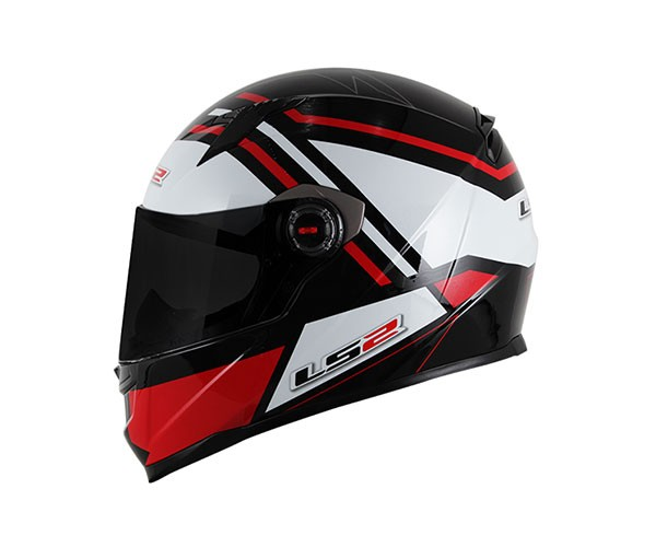 Capacete LS2 FF358 Mohican Vermelho
