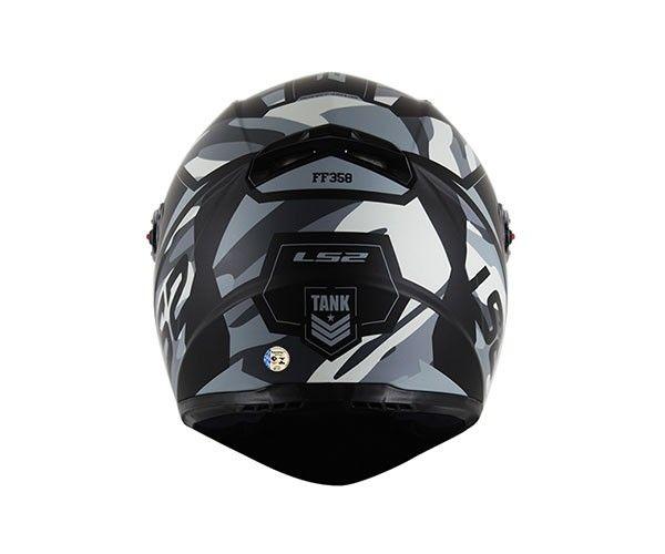 Capacete Ls2 FF358 Tank Matt Black ENTREGA PREVISTA PARA 29/04/2020  - Nova Centro Boutique Roupas para Motociclistas
