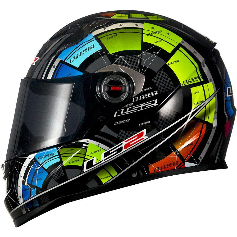 Capacete LS2 FF358 - Tech - Preto