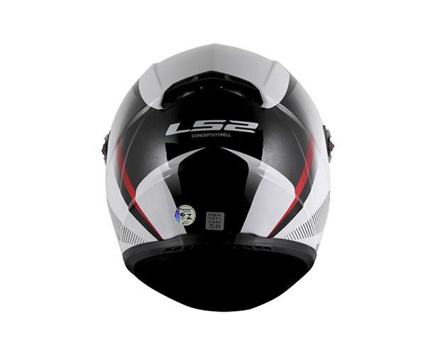 Capacete LS2 FF358 Tyrell Cinza  - Nova Centro Boutique Roupas para Motociclistas