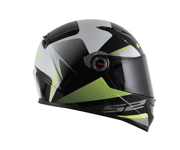 Capacete LS2 FF358 Tyrell Verde  - Nova Centro Boutique Roupas para Motociclistas
