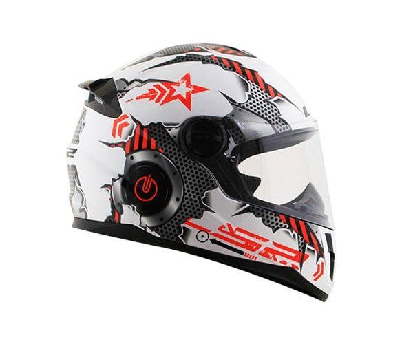 Capacete LS2 FF392 Junior Machine ( Infantil )  - Nova Centro Boutique Roupas para Motociclistas