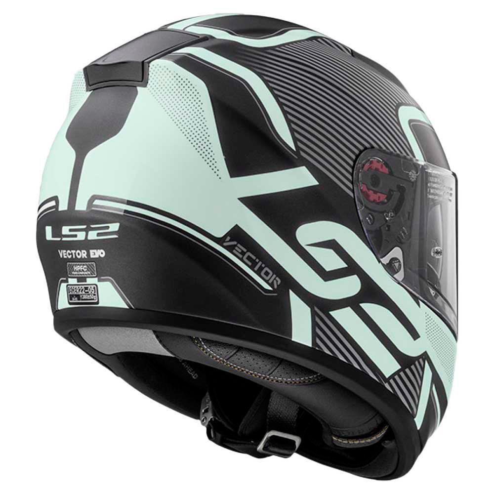 Capacete LS2 FF397 Vector Orion Matt Black - LANÇAMENTO  - Nova Centro Boutique Roupas para Motociclistas
