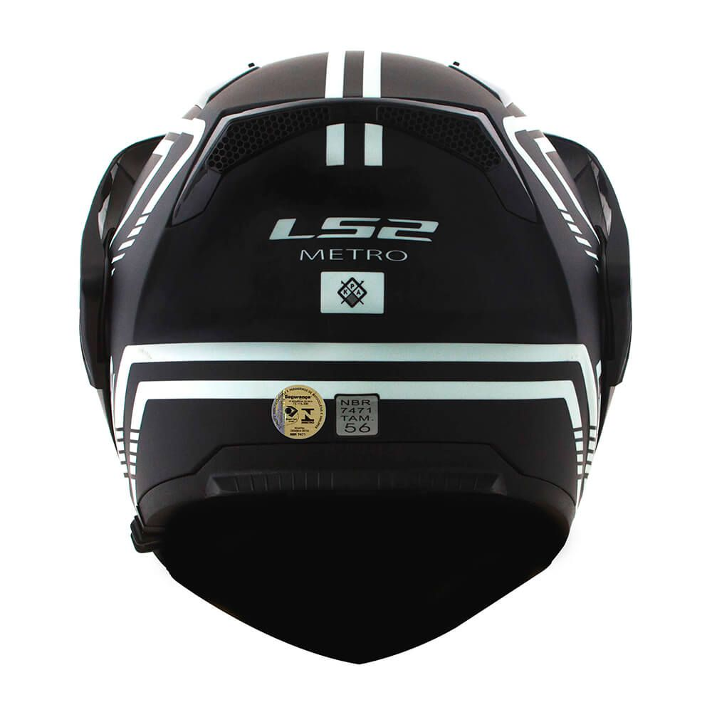 Capacete LS2  Metro FF324 Firefly  - Nova Centro Boutique Roupas para Motociclistas