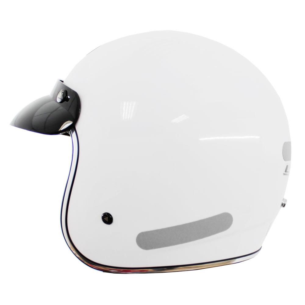 Capacete LS2 OF583 Branco (OF 583)  - Nova Centro Boutique Roupas para Motociclistas