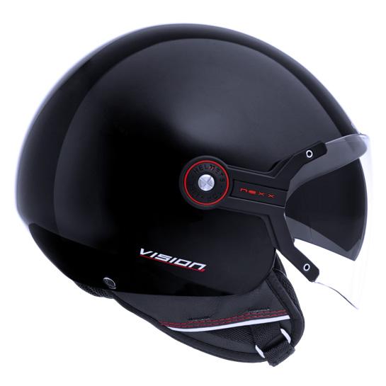 Capacete Nexx X60 Vision Flex Preto  - Nova Centro Boutique Roupas para Motociclistas