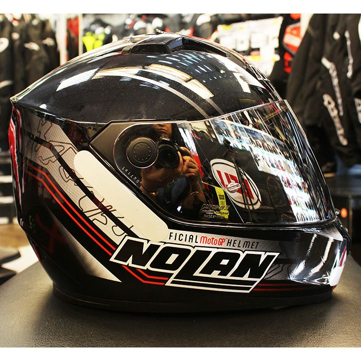 0 Capacete Nolan N64 MotoGP (GANHE BALACLAVA NOLAN)