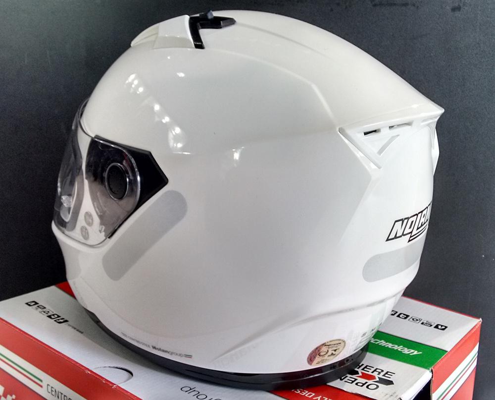 Capacete Nolan N64 Pure White - Ganhe Balaclava Exclusiva!  - Nova Centro Boutique Roupas para Motociclistas