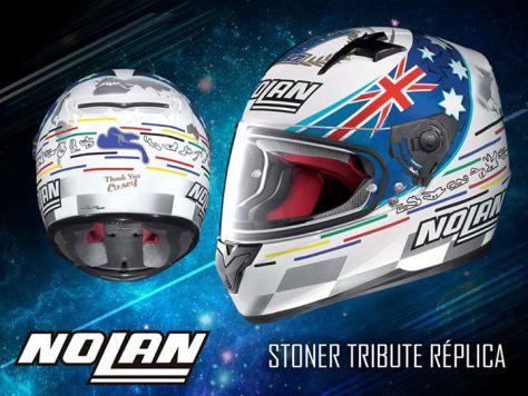 Capacete Nolan N64 Replica Stoner  - Nova Centro Boutique Roupas para Motociclistas