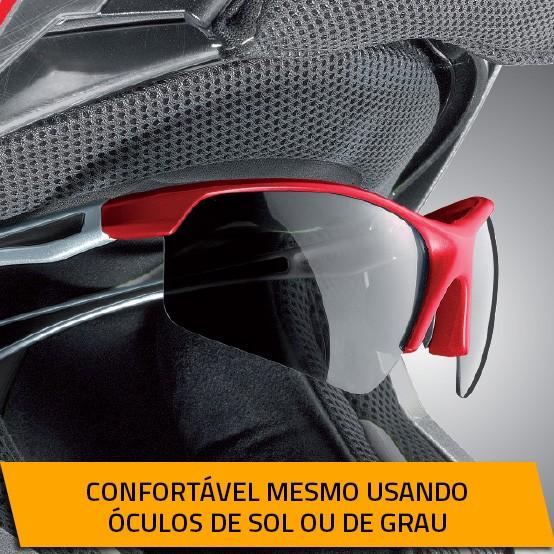 Capacete Nolan N87 Classic Metal White - c/ Viseira Interna  - Nova Centro Boutique Roupas para Motociclistas