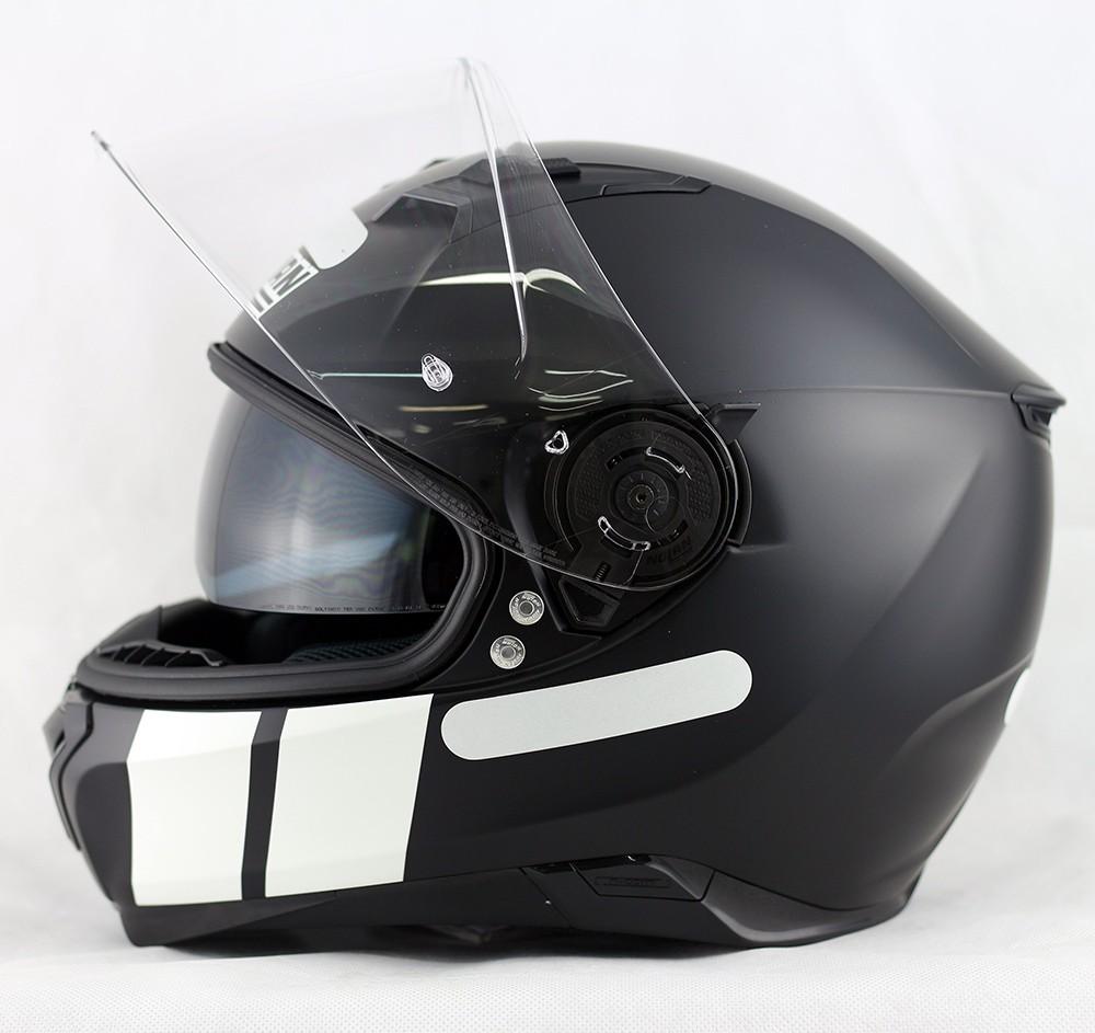 Capacete Nolan N87 Martz Flat Black - c/ Viseira Interna  - Nova Centro Boutique Roupas para Motociclistas