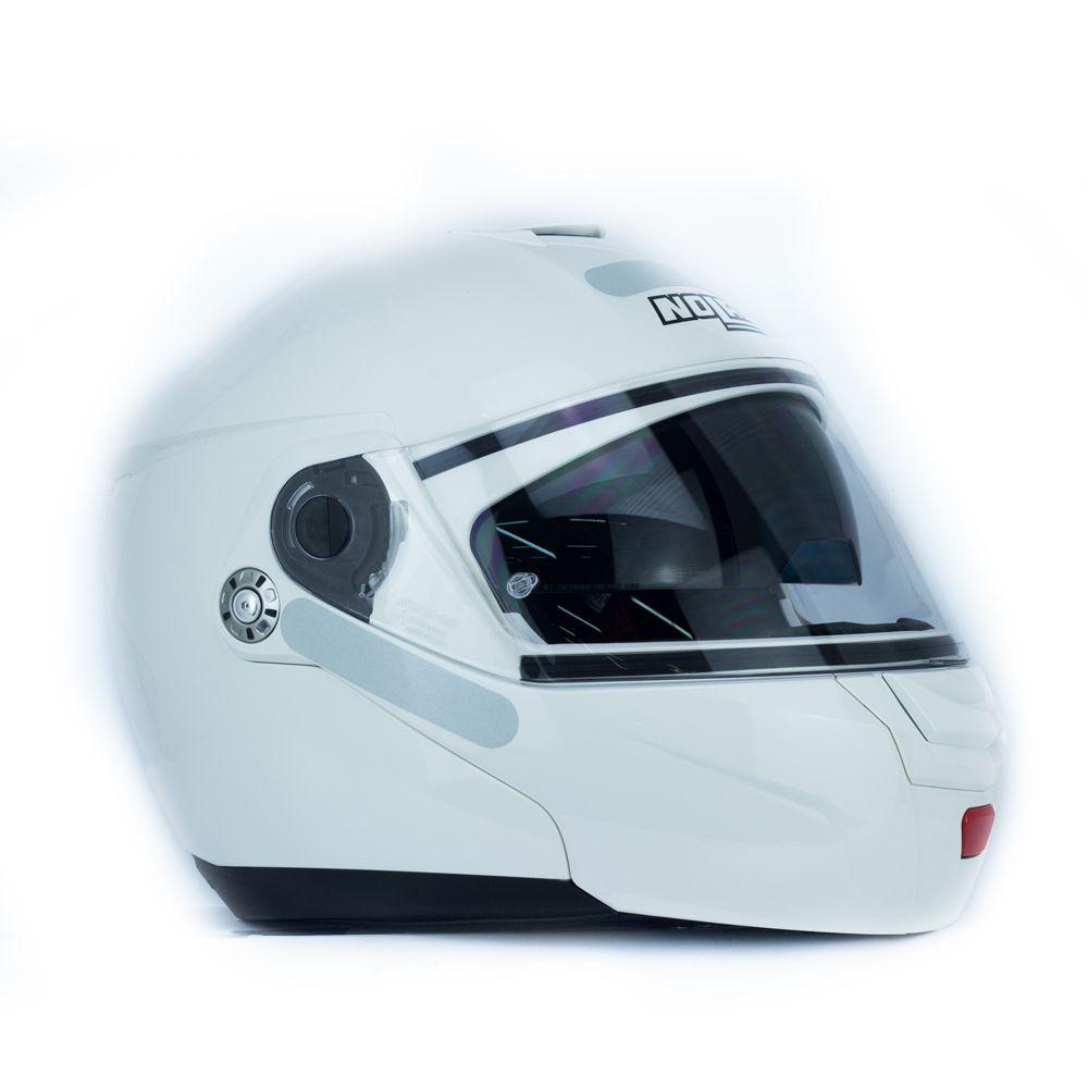 ... Capacete Nolan N90 Classic Branco Escamoteável C  Viseira Solar Interna  - Nova Centro Boutique Roupas ... 96c2fe1fd3
