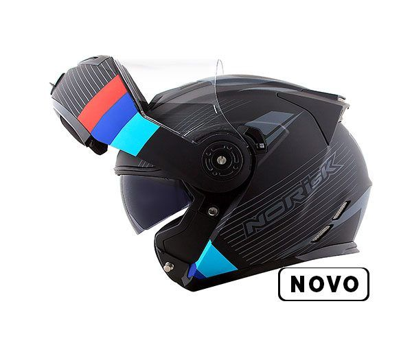 Capacete Norisk FF345 Escamoteável Route Stroke BMW C/ viseira Interna  - Nova Centro Boutique Roupas para Motociclistas
