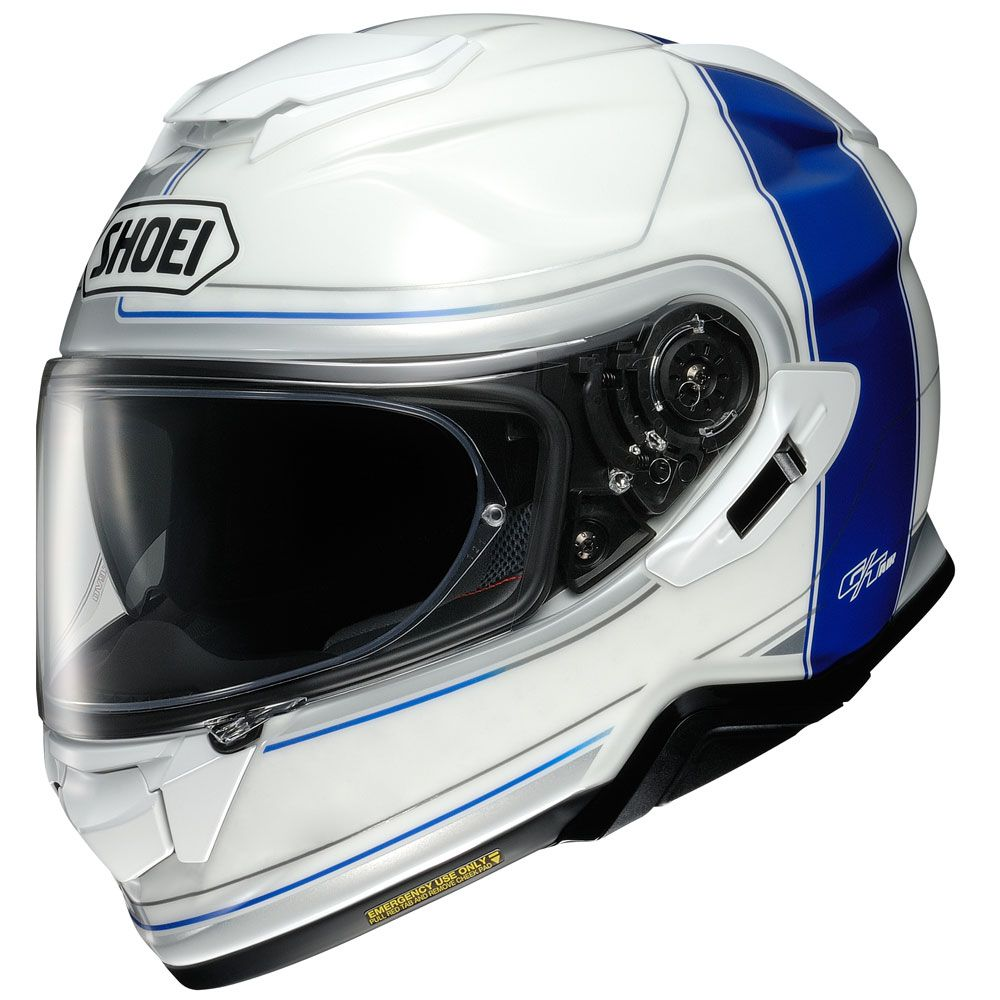 CAPACETE SHOEI GT-AIR II Crossbar TC-2 - Com Anti-Embaçante