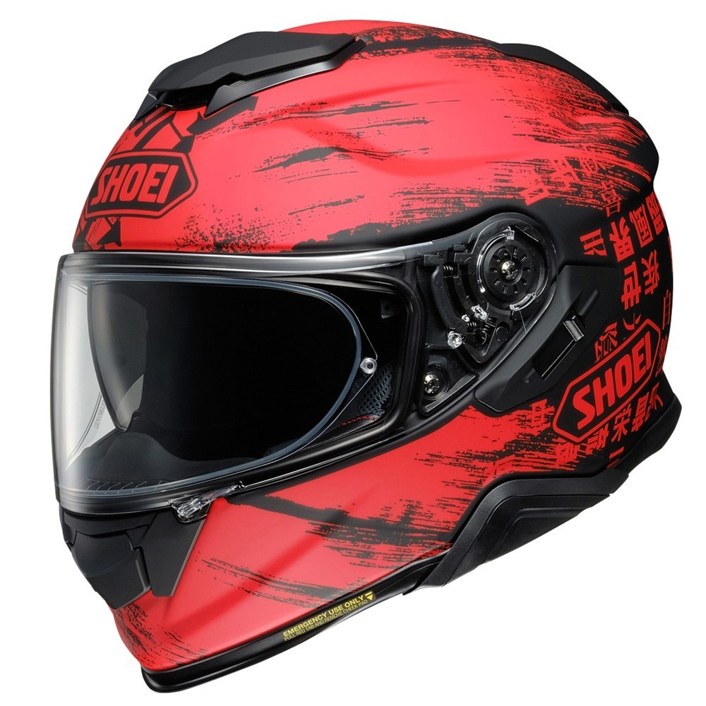 CAPACETE SHOEI GT-AIR II OGRE TC-1 - Com Anti-Embaçante