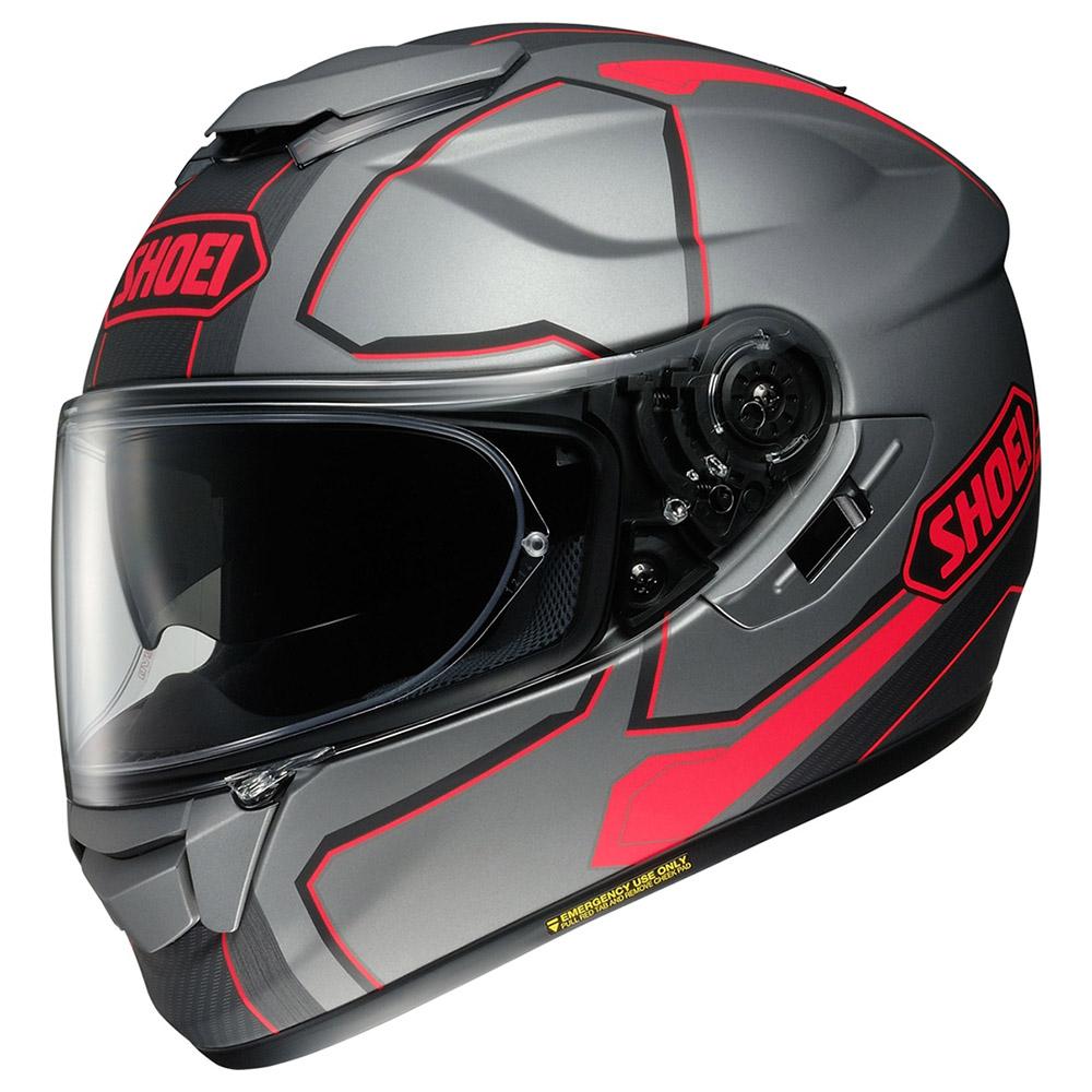 Capacete Shoei GT-Air Pendulum TC-10 Cinza/Vermelho c/ Pinlock Anti-Embaçante!  - Nova Centro Boutique Roupas para Motociclistas