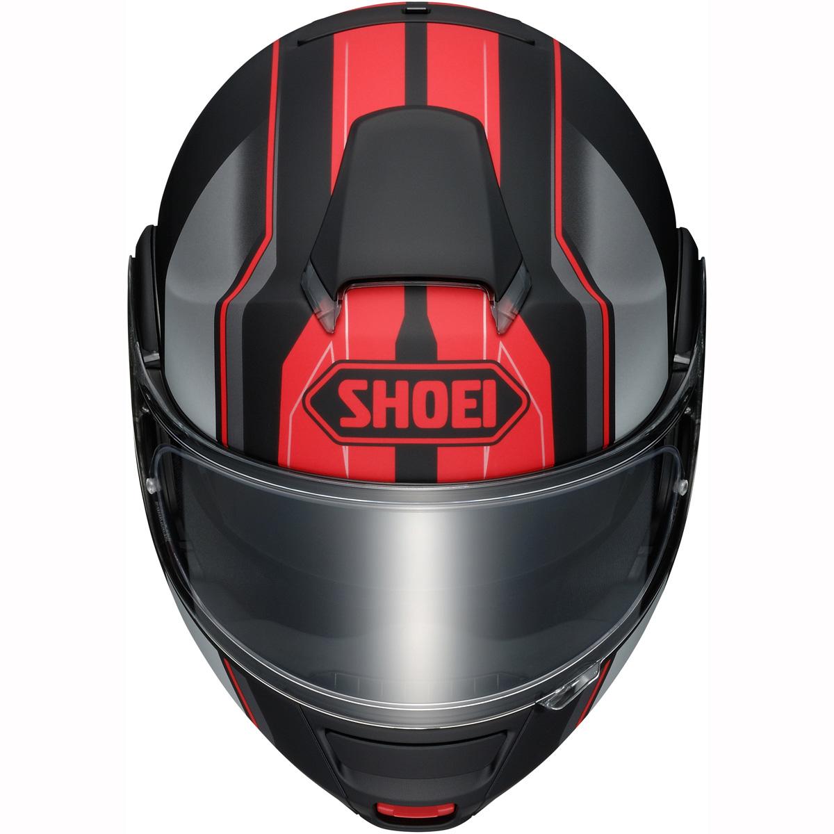 Capacete Shoei Neotec Imminent TC-1 Vermelho Escamoteável  - Nova Centro Boutique Roupas para Motociclistas