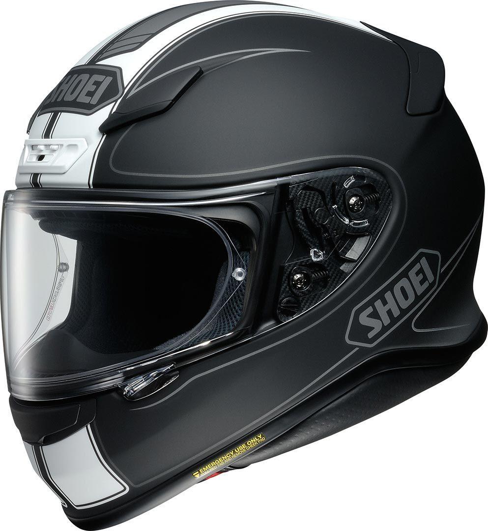 Capacete Shoei NXR Flagger TC-3 Preto/Branco - NOVO!  - Nova Centro Boutique Roupas para Motociclistas