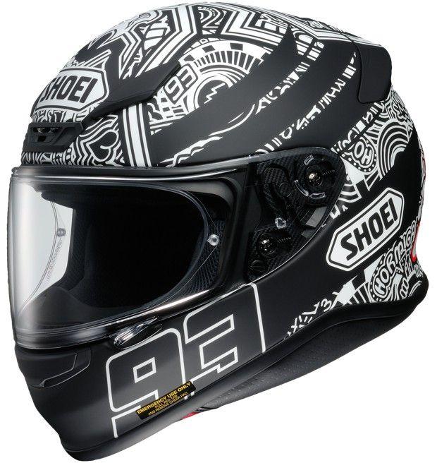 Capacete Shoei NXR Marc Marquez Digi Anthracite TC-5  - Nova Centro Boutique Roupas para Motociclistas