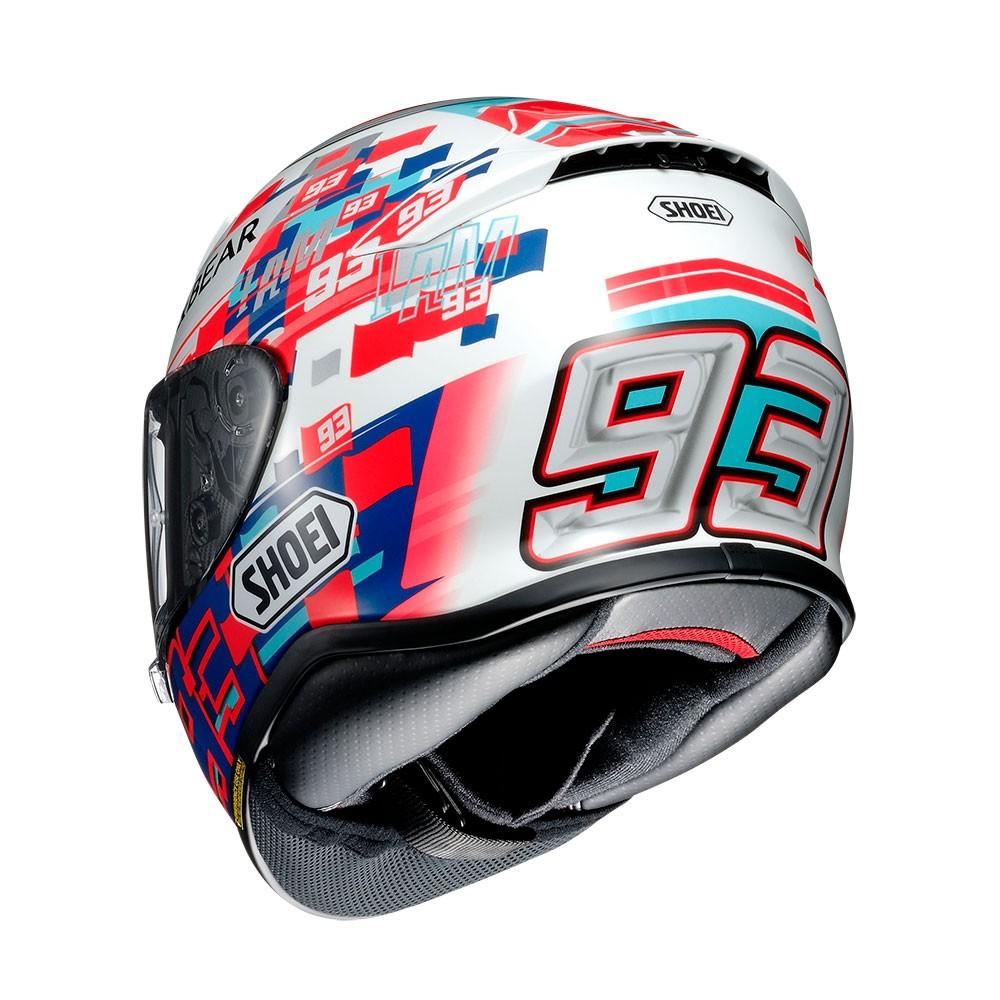 Capacete Shoei NXR Power Up Marc Marquez TC-1   - Nova Centro Boutique Roupas para Motociclistas