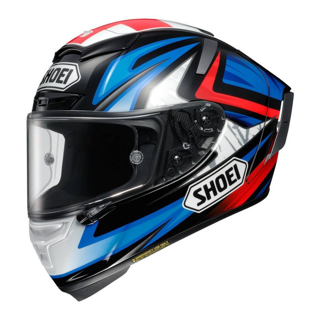 CAPACETE SHOEI X-SPIRIT 3 (X-FOURTEEN) - Bradley TC-1  - Nova Centro Boutique Roupas para Motociclistas