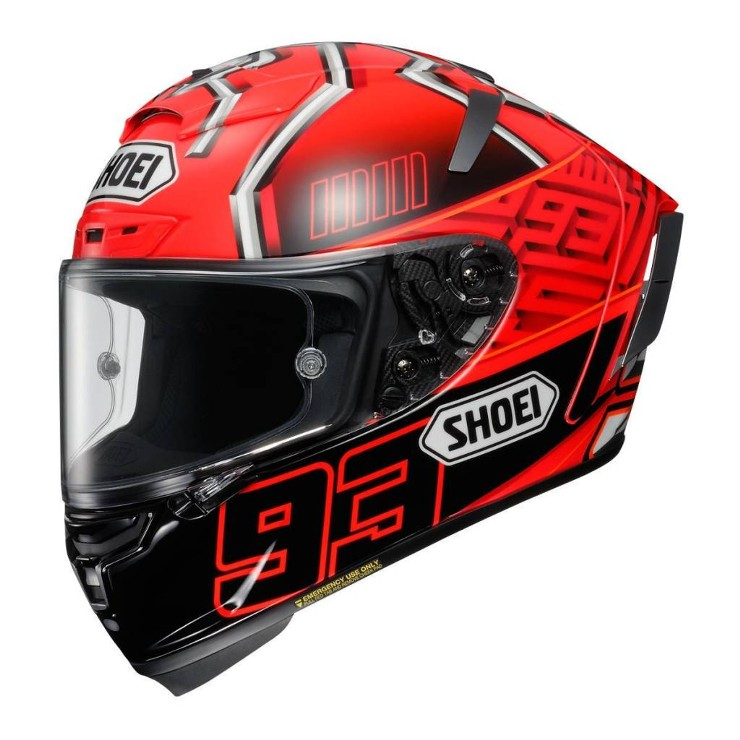 CAPACETE SHOEI X-SPIRIT 3 (X-FOURTEEN) - MARQUEZ 4 TC-1