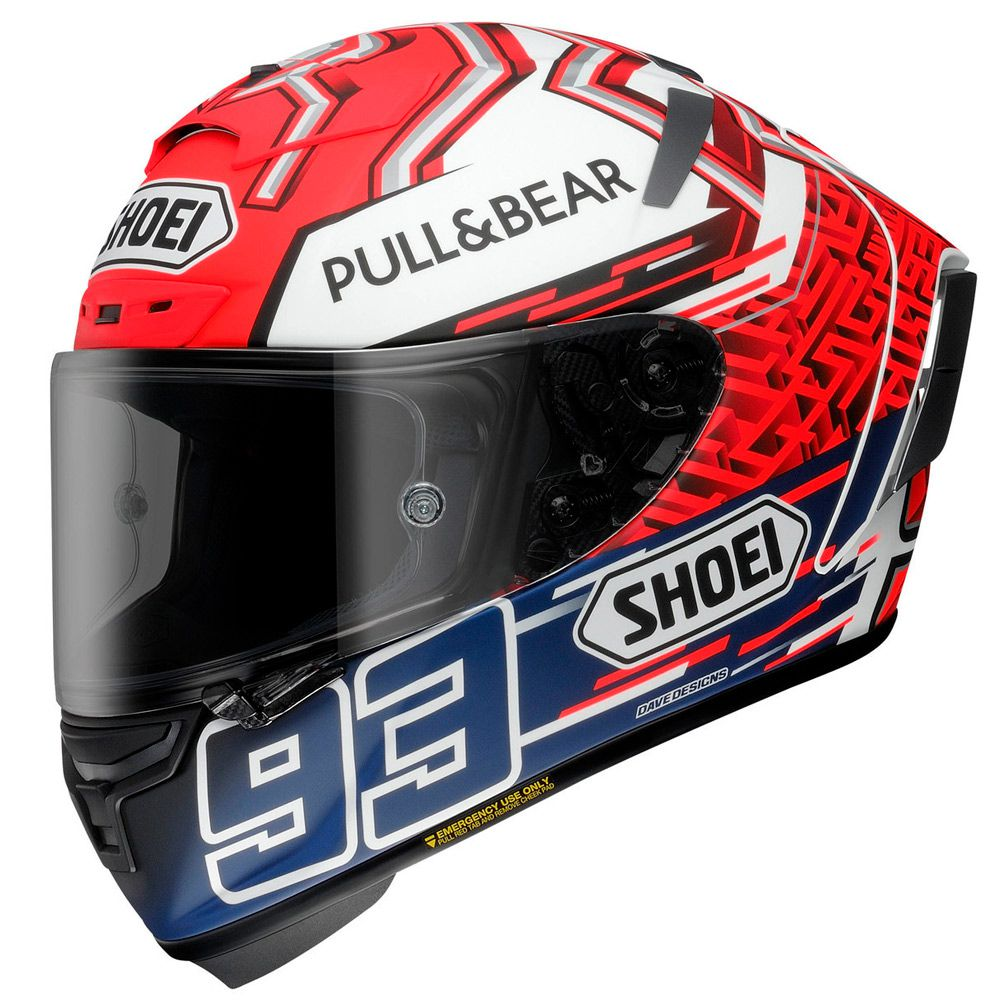 CAPACETE SHOEI X-SPIRIT 3 (X-FOURTEEN) - MARQUEZ 5 TC-1