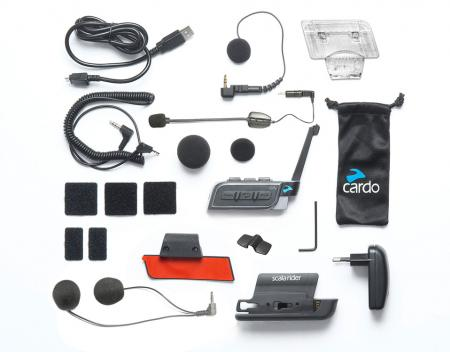 Intercomunicador Cardo G9X Power Set (2 pç)  - Nova Centro Boutique Roupas para Motociclistas