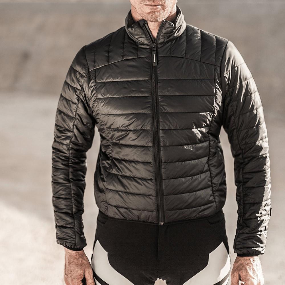 Jaqueta Spidi 4 Season Black/Blue/Grey H2Out e Ventilada - Big Trail Parka  - Nova Centro Boutique Roupas para Motociclistas