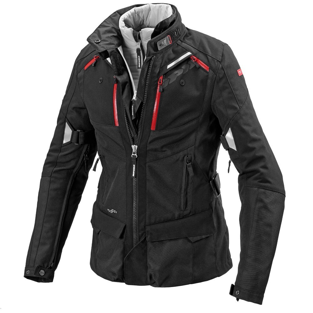 Jaqueta Spidi 4 Season Lady/Feminina Black H2Out e Respirável - Big Trail Parka  - Nova Centro Boutique Roupas para Motociclistas