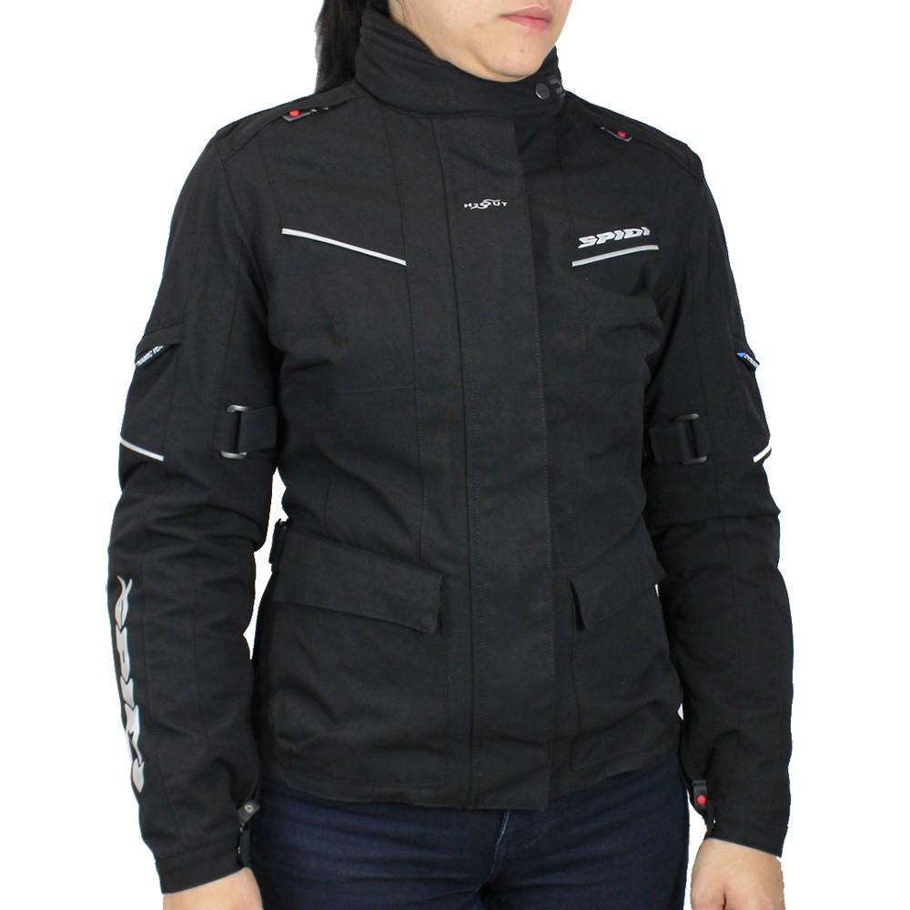Jaqueta Spidi Venture Lady H2OUT Pretav  - Nova Centro Boutique Roupas para Motociclistas