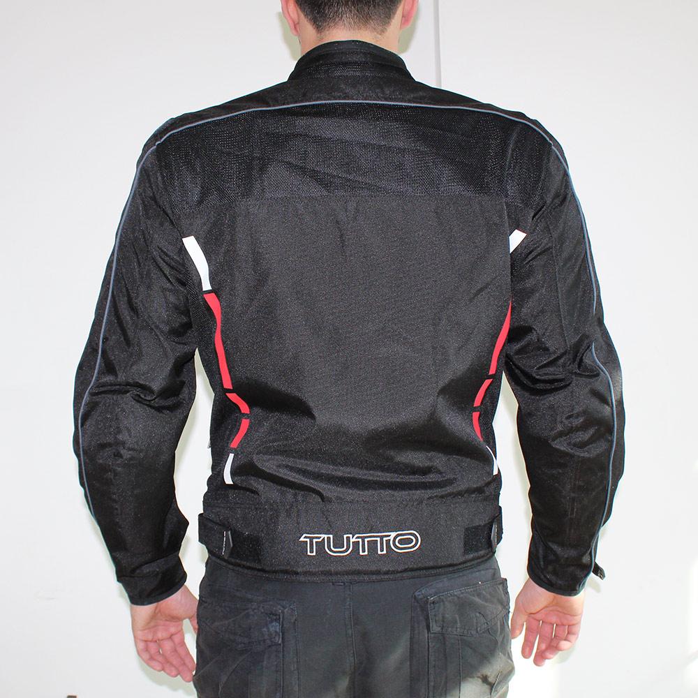 Jaqueta Tutto Moto Wind Summer Preta  ( Membrana Interna Impermeavel )  - Nova Centro Boutique Roupas para Motociclistas