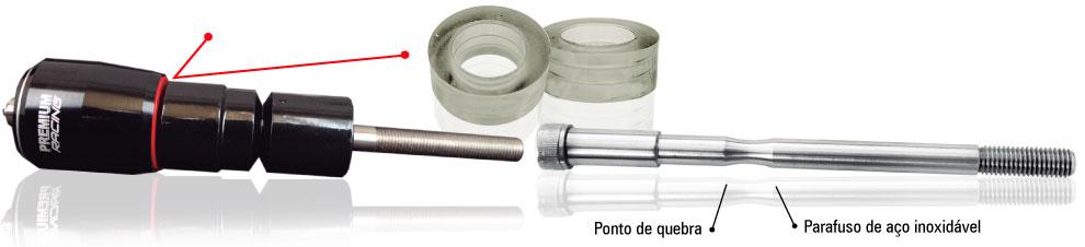 Sliders Dianteiro Premium Racing P/motos Honda  - Nova Centro Boutique Roupas para Motociclistas